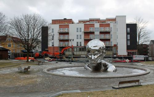 Det bygges 38 nye leiligheter i det gamle bygget til Sarpsborg Arbeiderblad.